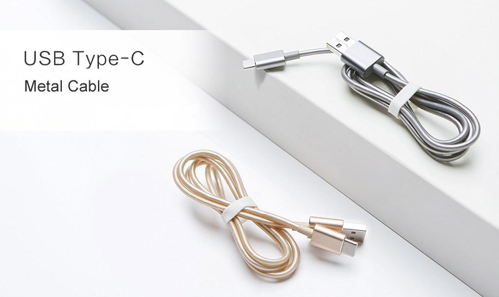 کابل فلزی Type-c شیائومی ۱۰۰ سانتی متری